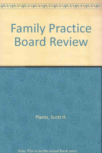 9780071108652: Family Practice Board Review
