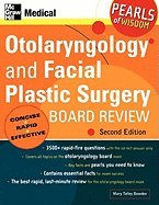 9780071108799: Otolaryngology and Facial Plastic Surgery Board Review