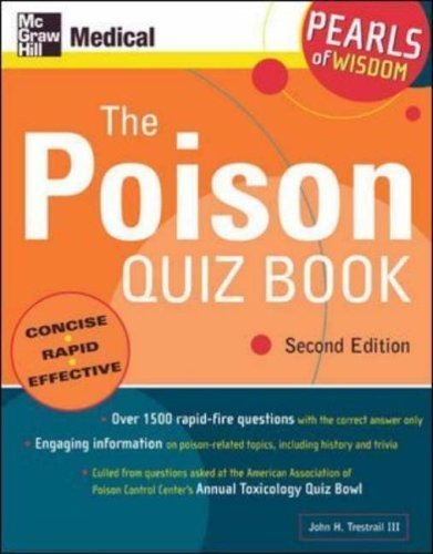 9780071108935: The Poison Quiz Book