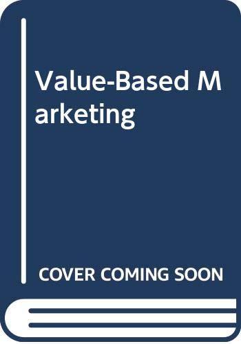 9780071109055: Value-Based Marketing