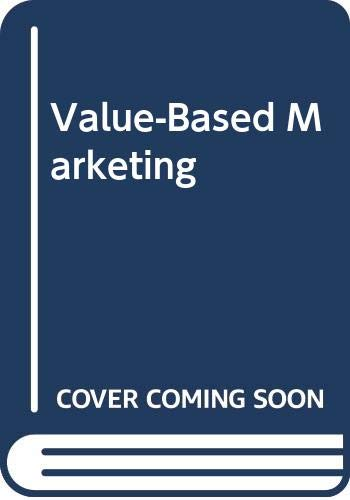 9780071109055: Value-Based Marketing