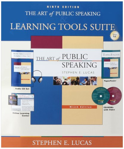 9780071109116: The Art of Public Speaking with Student CDs 5.0, Audio CD set, PW & Topic Finder: With Student CDs 5.0, Audio Cd Set, Powerweb & Topic Finder