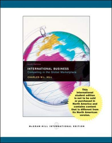 9780071109123: International Business with Online Learning Center access card