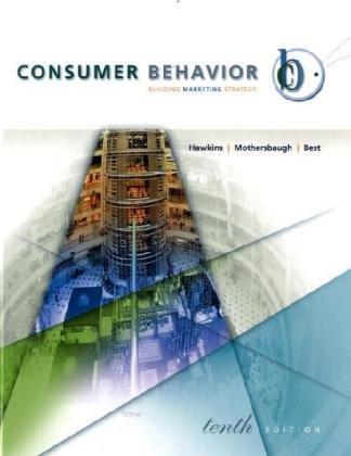 consumer behavior with ddb life style st: Delbert I. Hawkins,