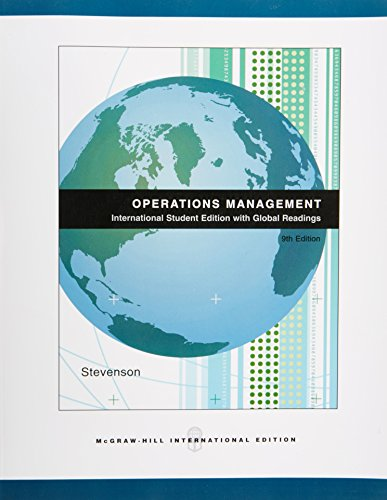 9780071109161: Operations Management