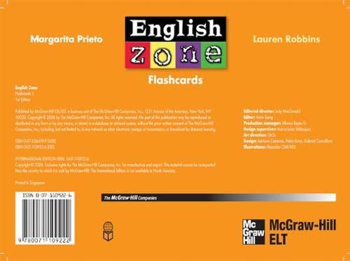 9780071109222: English Zone 5