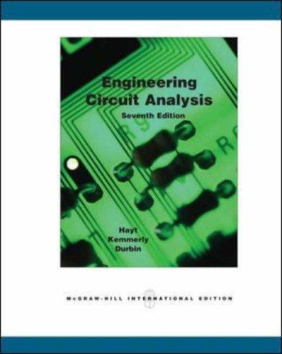 9780071109376: Engineering Circuit Analysis