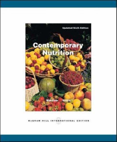 9780071109505: Contemporary Nutrition