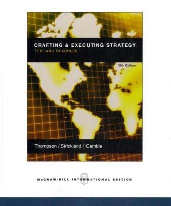 9780071109512: Crafting and Executing Strategy: WITH OLC and Premium Content Card: Text and Readings