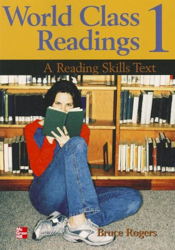 9780071110082: World Class Readings 1: High Beginning: A Reading Skills Text