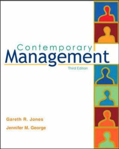 9780071110242: Contemporary Management