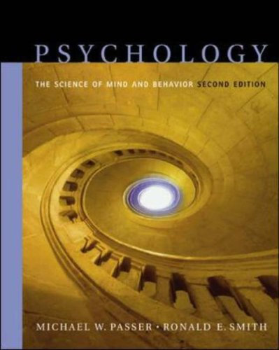 9780071110549: Psychology: WITH In-Psych Plus CD-ROM and PowerWeb: The Science of Mind and Behavior