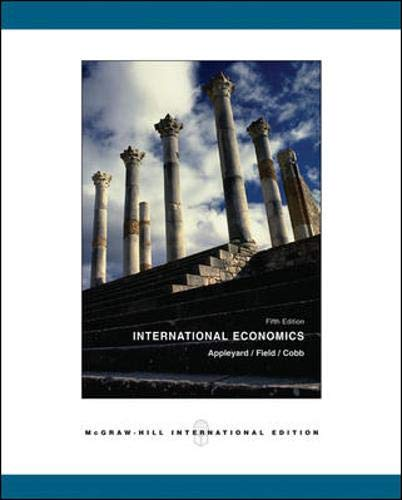9780071110938: International Economics