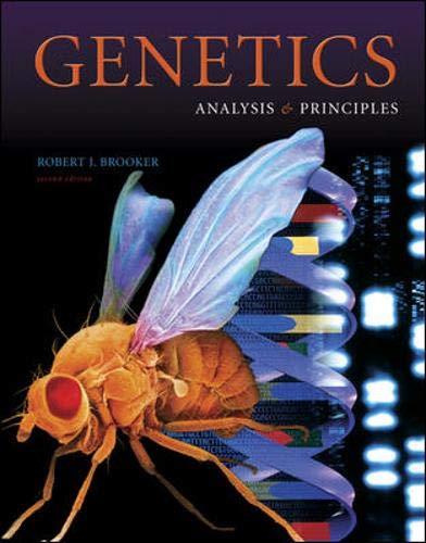 9780071110990: Genetics: Analysis and Principles