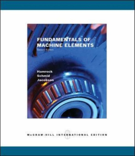 9780071111423: Fundamentals of Machine Elements