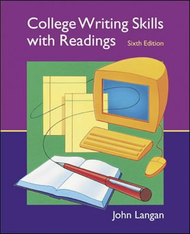 9780071111485: College Writing Skills with Readings