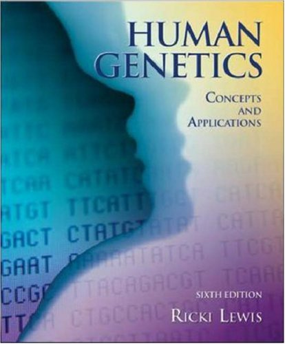 9780071111577: Human Genetics: WITH Bound in OLC Card
