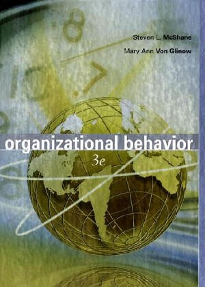 steven l mcshane Organizational behavior: emerging knowledge, global reality 6th ed by steven l mcshane, mary ann von glinow & radha r sharma and a great selection of similar used, new and collectible books available now at abebookscom.