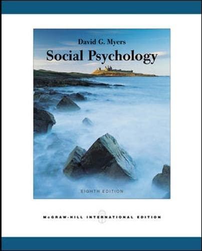 9780071111706: Social Psychology