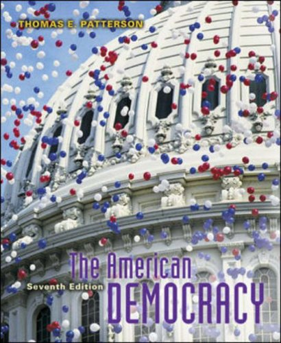 9780071111737: The American Democracy