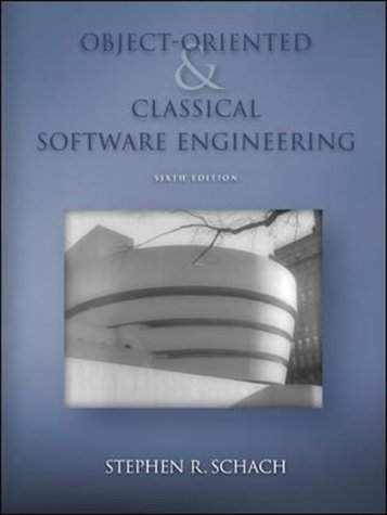9780071111911: Object-oriented and Classical Software Engineering