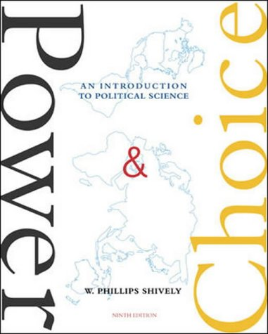 9780071111997: Power & Choice: An Introduction to Political Science, 9th Edition