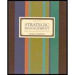 9780071112154: Strategic Management: Formulation, Implementation, And Control