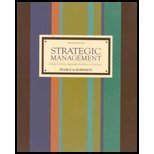 9780071112154: Strategic Management: Formulation, Implementation, And Control