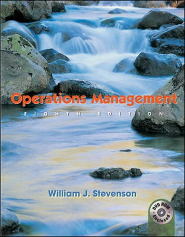 9780071112192: Operations Management: WITH Student DVD and Power Web