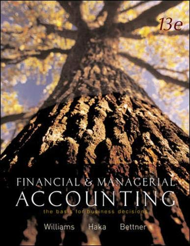 9780071112239: Financial and Managerial Accounting: The Basis for Business Decisions: WITH My Mentor, Net Tutor, Olc and Powerweb