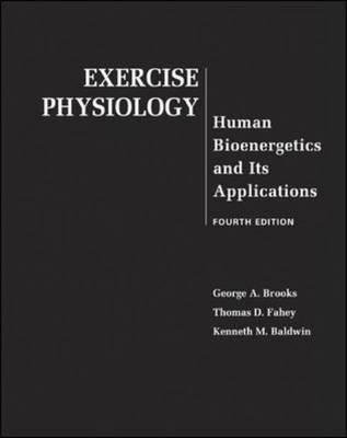 9780071112567: Exercise Physiology: Human Bioenergetics and Its Applications