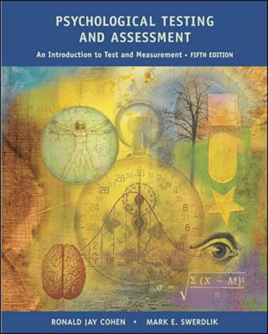 9780071112604: Psychological Testing and Assessment: An Introduction to Tests and Measurement