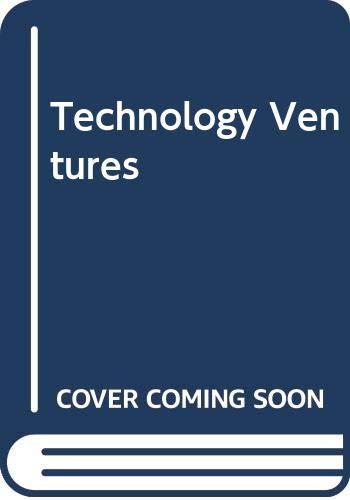 9780071112642: Technology Ventures
