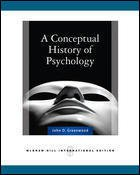 9780071112680: A Conceptual History of Psychology