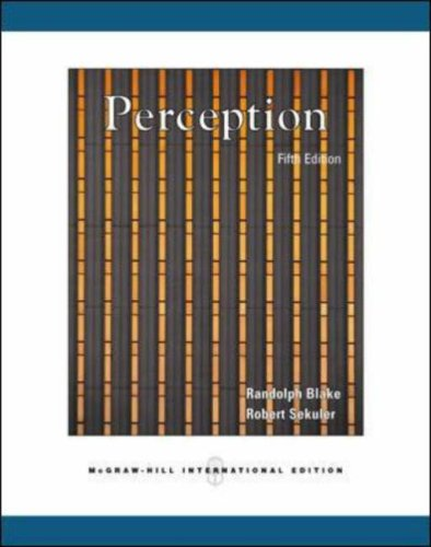 9780071112727: Perception, 5th Edition