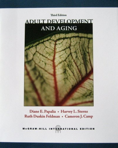 9780071112871: Adult Development and Aging: Third Edition