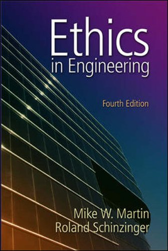 9780071112932: Ethics in Engineering