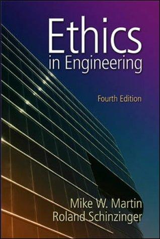 9780071112932: Ethics in Engineering