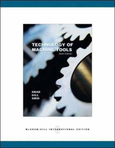 9780071112956: Technology of Machine Tools, Student Edition