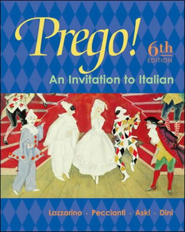 9780071113076: Prego!: Student Prepack with Bind-in Card: An Invitation to Italian