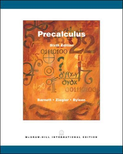 9780071113199: Precalculus: Functions and Graphs