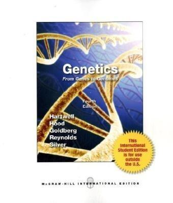 9780071113281: Genetics: From Genes to Genomes (International)