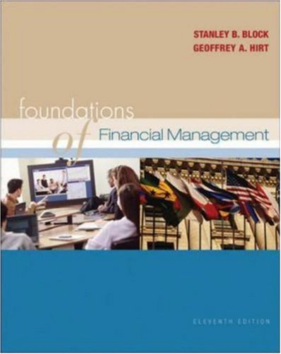 9780071113397: Foundations of Financial Management: WITH Self-Study CD + S&P + OLC with PowerWeb