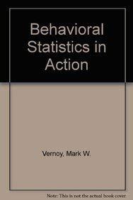 9780071113618: Behavioral Statistics in Action