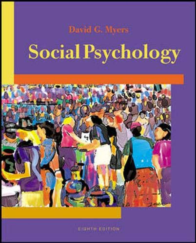 Social Psychology with Socialsense CD-Rom and Powerweb: Myers, David