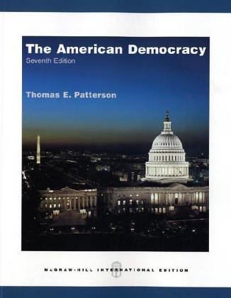 9780071113922: The American Democracy