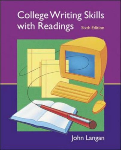 9780071114165: College Writing Skills with Readings: Text, Student CD, User's Guide, and Online
