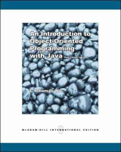 9780071114677: An Introduction to Object-Oriented Programming with Java with Olc Bi-Card