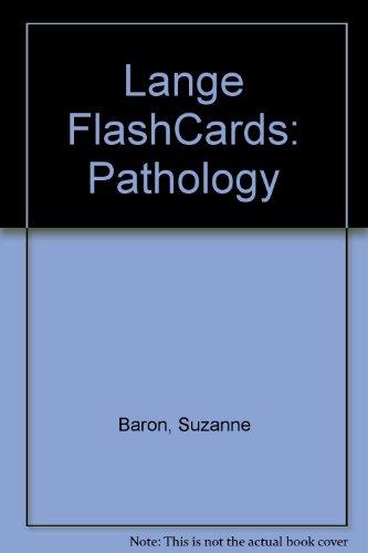 9780071114684: Lange FlashCards: Pathology