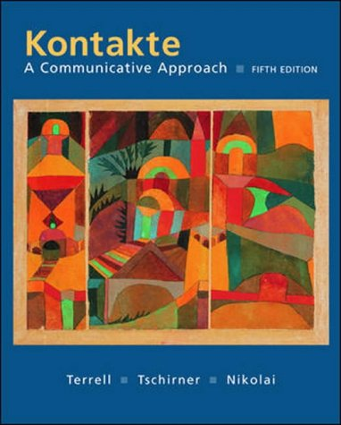 9780071115223: Kontakte: A Communicative Approach Student Edition with Online Learning Center Bind-In card